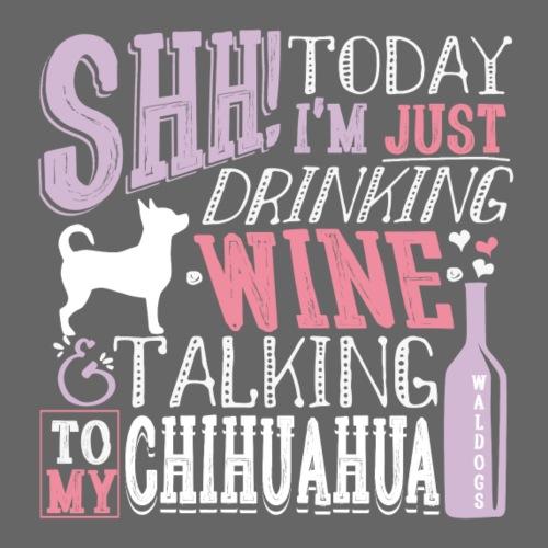 SHH Chihu Wine 003 - Miesten premium t-paita