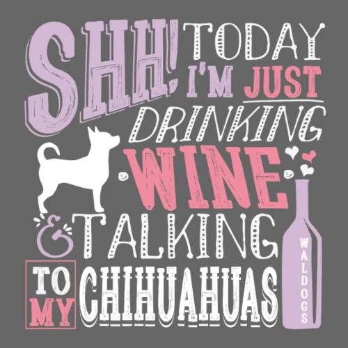 SHH Chihu Wine 002 - Miesten premium t-paita
