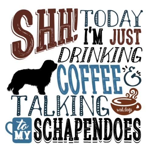SHH Schapendoes 2 - Miesten premium t-paita