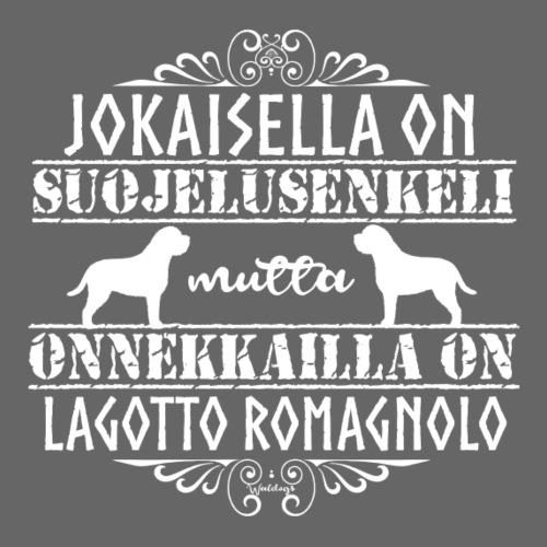 Lagotto Romagnolo Enkeli4 - Miesten premium t-paita