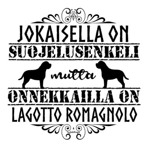 Lagotto Romagnolo Enkeli3 - Miesten premium t-paita