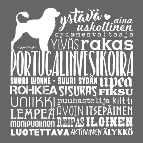 Portugeesi Sanat V - Miesten premium t-paita