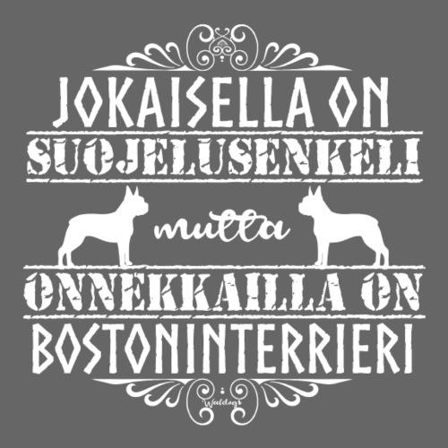 Bostoni Enkeli - Miesten premium t-paita
