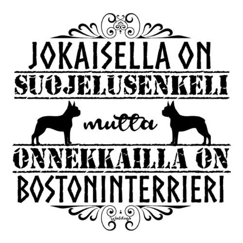 Bostoni Enkeli 2 - Miesten premium t-paita