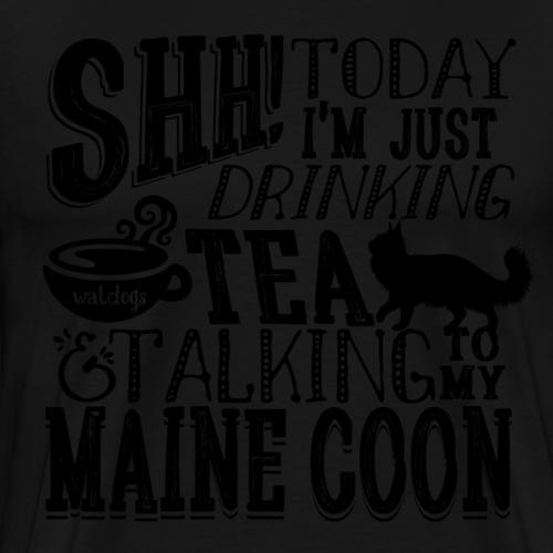 SHH Maine Coon Tea2 - Miesten premium t-paita