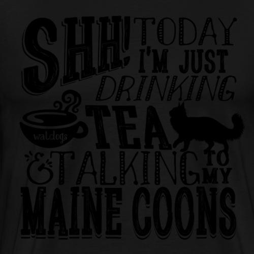 SHH Maine Coon Tea - Miesten premium t-paita