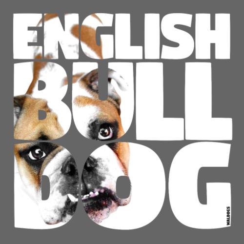 English Bulldog I - Miesten premium t-paita