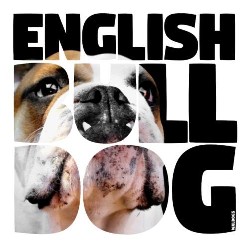 English Bulldog III - Miesten premium t-paita