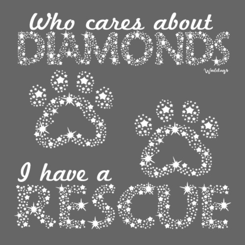 Diamond Rescue - Miesten premium t-paita