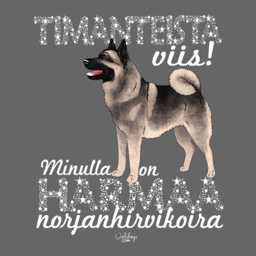 harmaanorjandimangi - Miesten premium t-paita