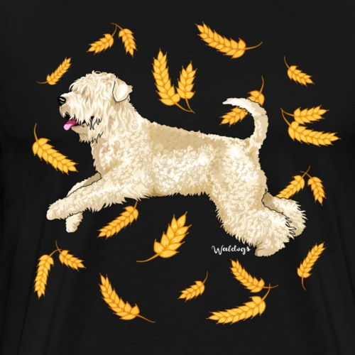 Wheat Wheaten Terrier - Men's Premium T-Shirt