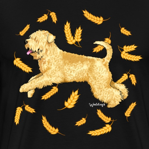 Wheat Wheaten Terrier 2 - Men's Premium T-Shirt