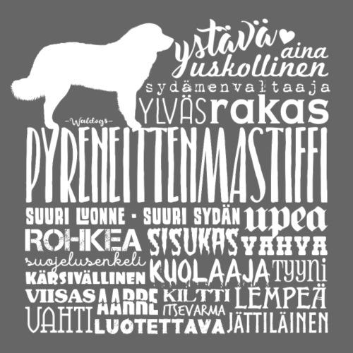 Pystiffi Sanat V - Miesten premium t-paita