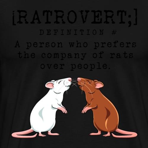 Ratrovert VIII - Miesten premium t-paita