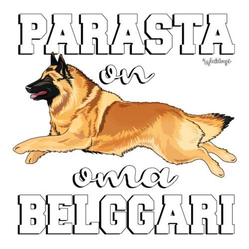 Belgi Tervueren Paras3 - Miesten premium t-paita