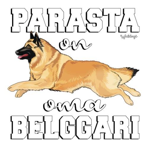 Belgi Tervueren Paras2 - Miesten premium t-paita