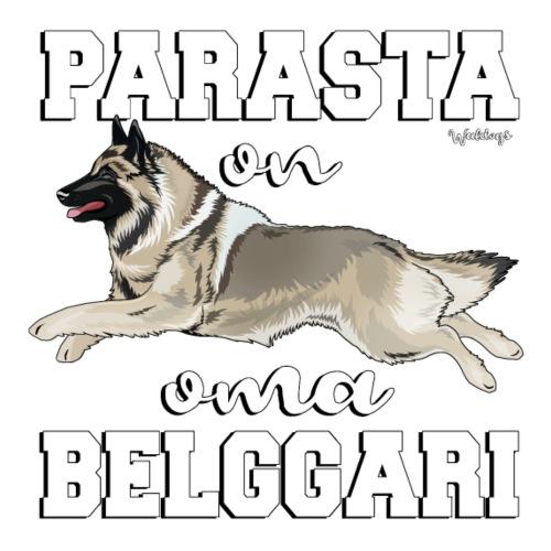 Belgi Tervueren Paras - Miesten premium t-paita