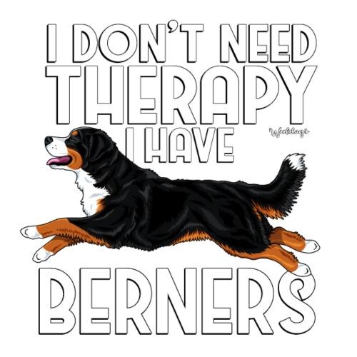 Bernese Berner Therapy - Miesten premium t-paita