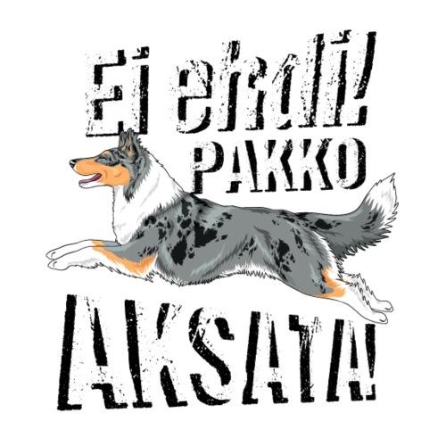 Ei ehdi! PK Collie I - Miesten premium t-paita