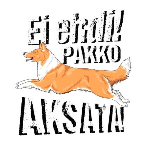 Ei Ehdi! PK Collie III - Miesten premium t-paita