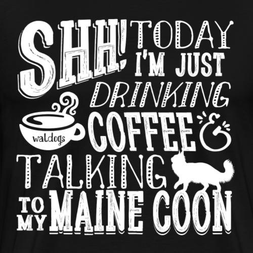 SHH Maine Coon Coffee4 - Miesten premium t-paita