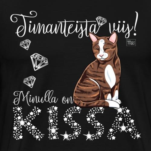 Timanteista Viis Kissa II - Miesten premium t-paita