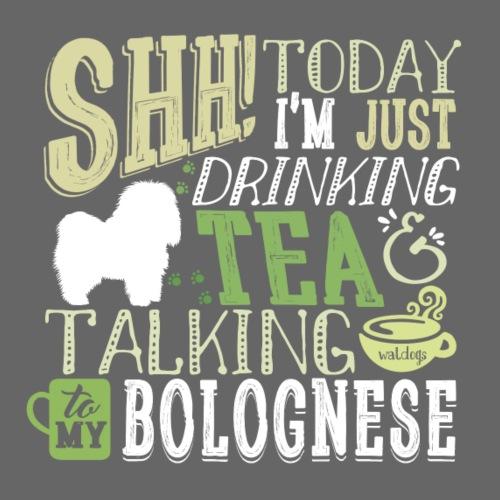 Bolognese Tea - Miesten premium t-paita