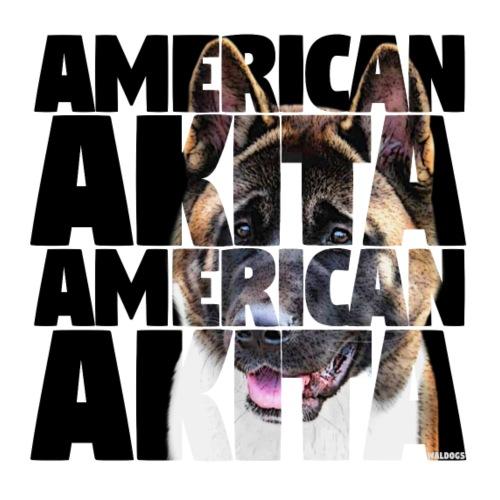 American Akita B - Miesten premium t-paita