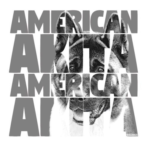 American Akita G - Miesten premium t-paita