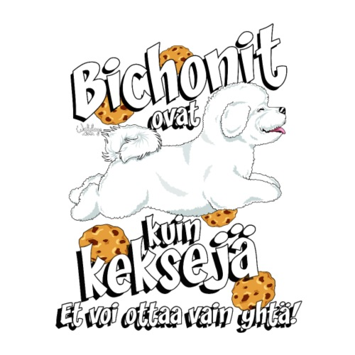 bichonkeksit - Miesten premium t-paita