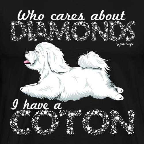 Coton De Tuléar Diamonds - Men's Premium T-Shirt