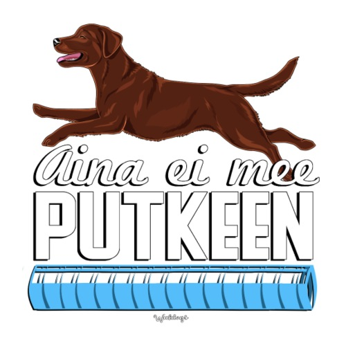 Labradori Putkeen 2 - Miesten premium t-paita