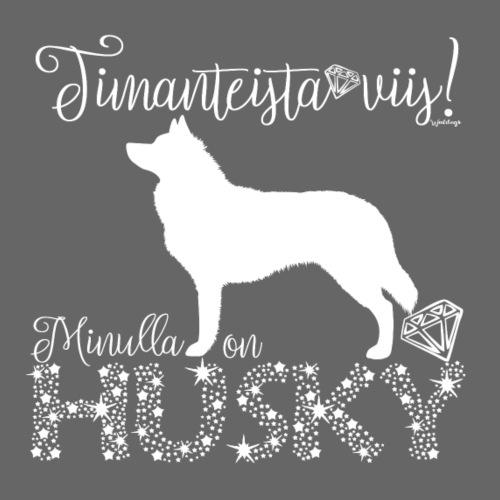 Dimangi Siperianhusky 01 - Miesten premium t-paita