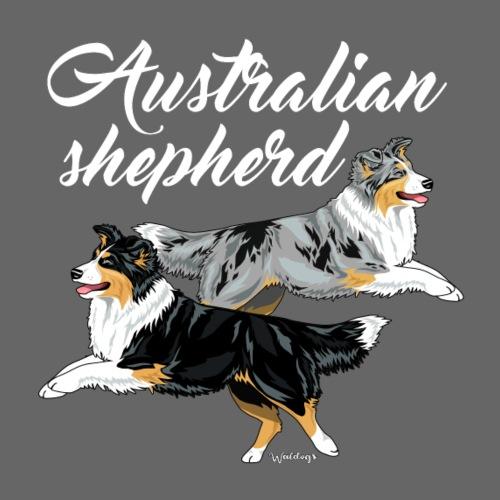 Aussies Double Pair - Miesten premium t-paita
