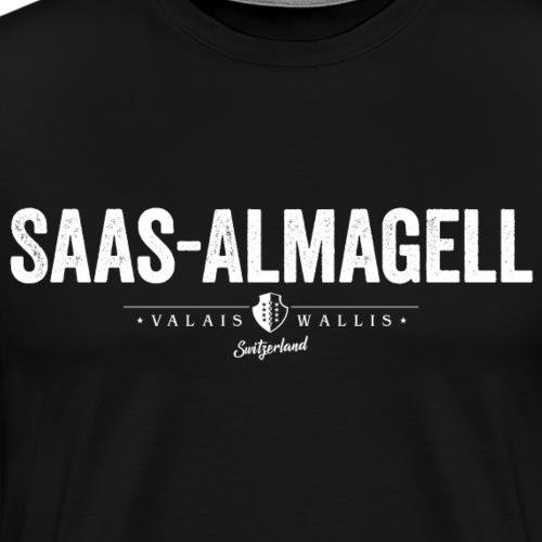 SAAS-ALMAGELL - Männer Premium T-Shirt