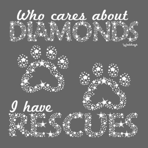 Diamond Rescues - Miesten premium t-paita