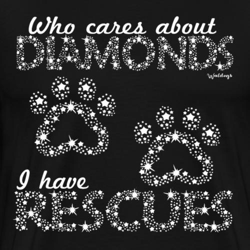 Diamond Rescues - Men's Premium T-Shirt