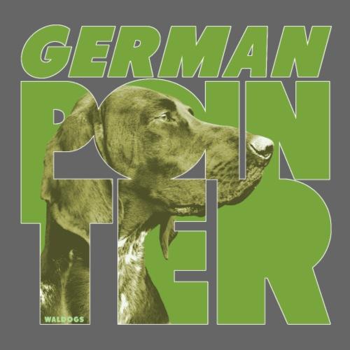 German Pointer III - Miesten premium t-paita
