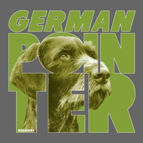 German Pointer X - Miesten premium t-paita