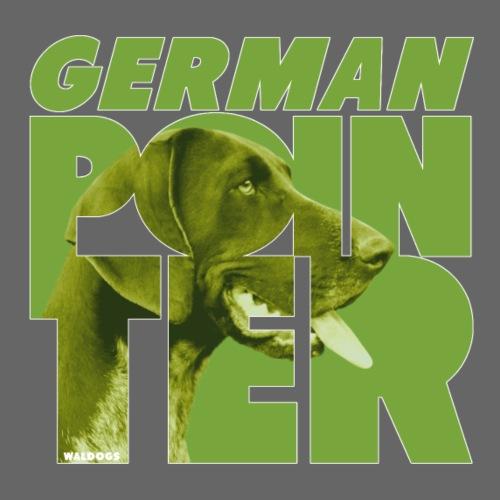German Pointer IV - Miesten premium t-paita