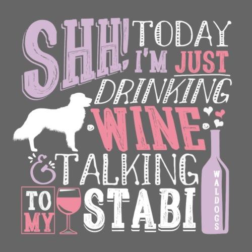 Stabijhoun Wine 02 - Miesten premium t-paita