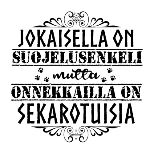 sekarotuinenenkeli4 - Miesten premium t-paita