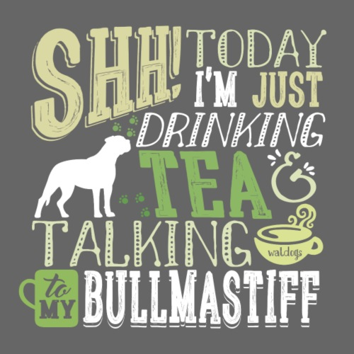 SHH Bullmastiff Tea II - Miesten premium t-paita