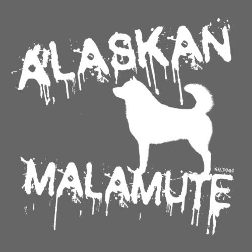 Drip Alaskan Malamute I - Miesten premium t-paita