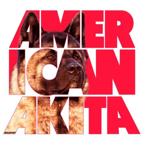 American Akita II - Miesten premium t-paita