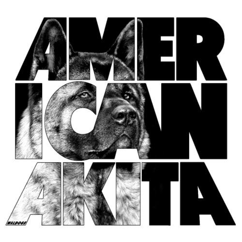 American Akita IV - Miesten premium t-paita