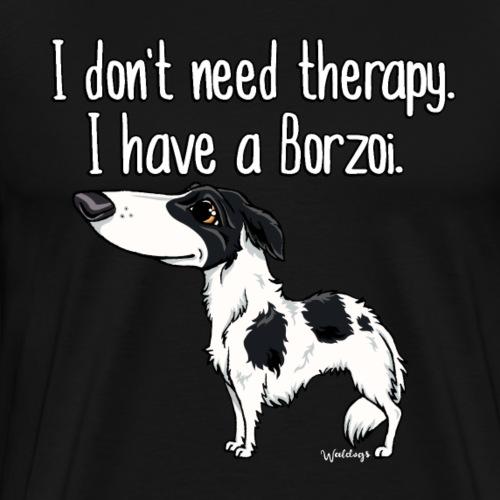 borzoitherapy - Men's Premium T-Shirt