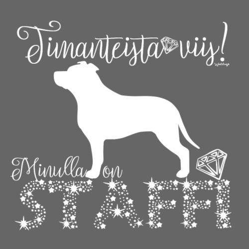 Staffi Dimangeja - Miesten premium t-paita