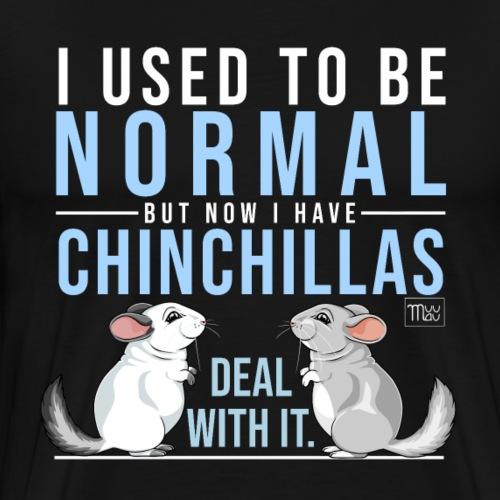Chinchilla Normal II - Miesten premium t-paita