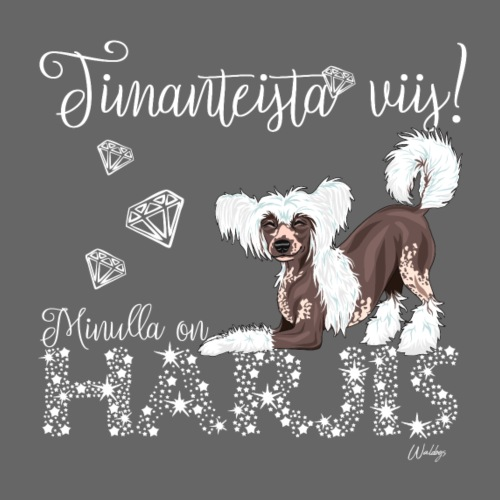 Harjis Dimangi IV - Miesten premium t-paita